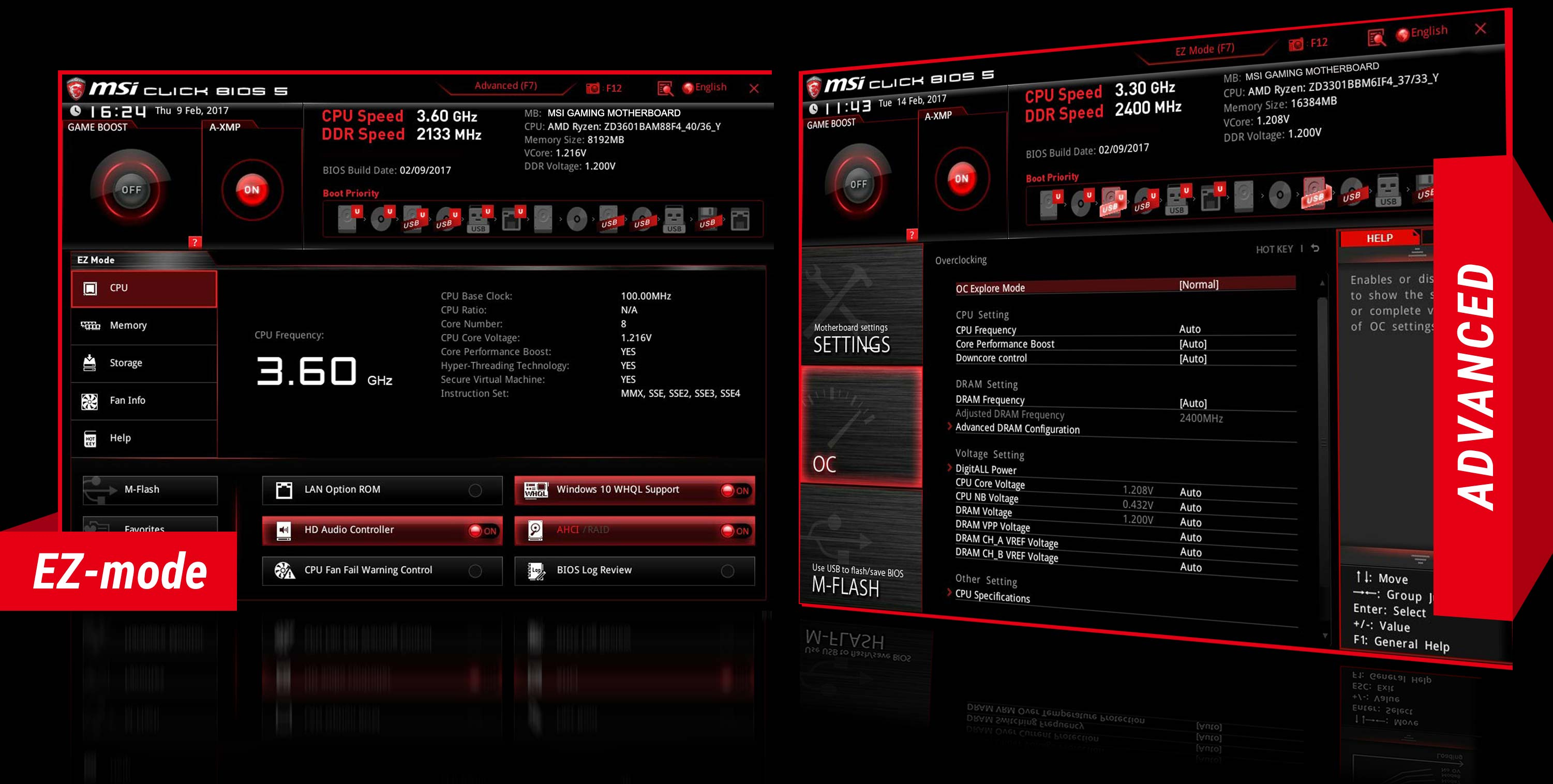 MSI Bios Advanced