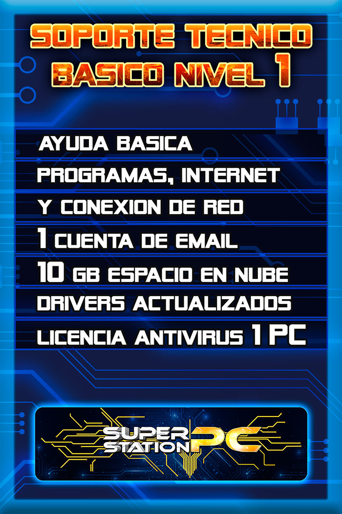 Soporte Tecnico Informatico Basico nivel 1