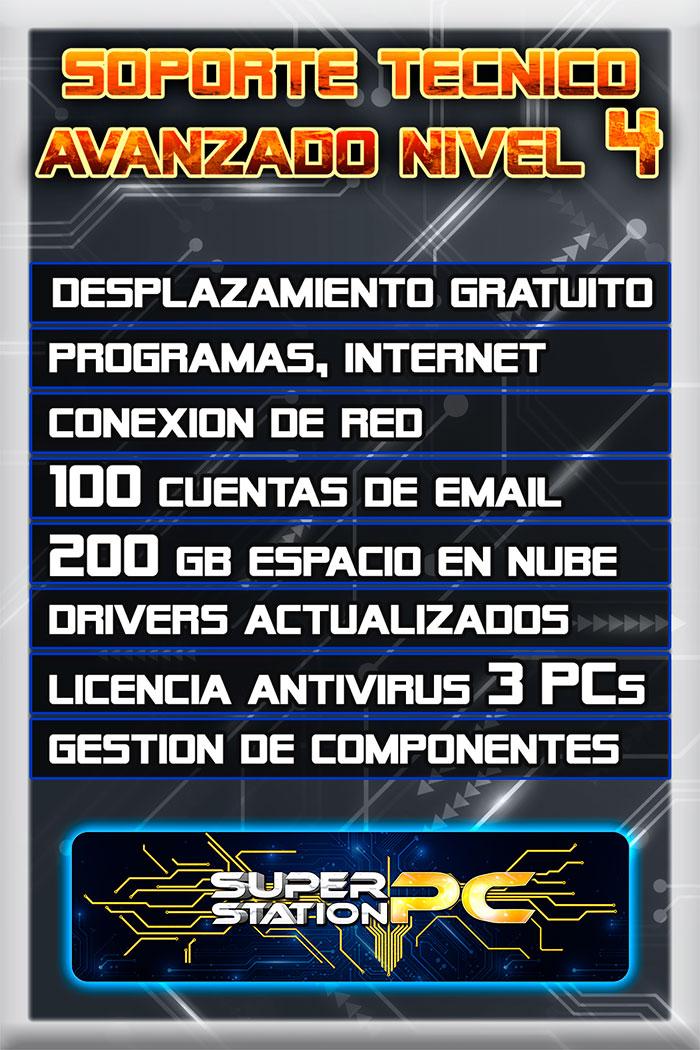 Soporte Tecnico Informatico Nivel 4