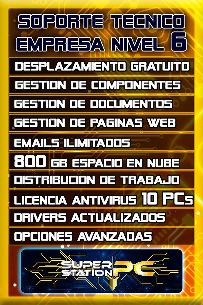 Soporte Tecnico Informatico Nivel 6