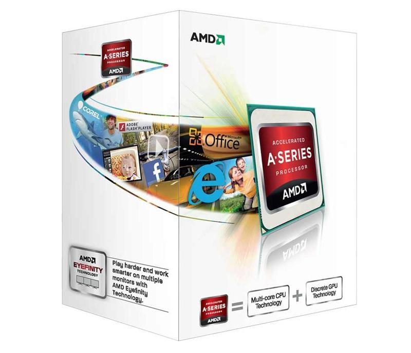 AMD A4-5300 3.4 Ghz Socket FM2 Boxed – Procesador