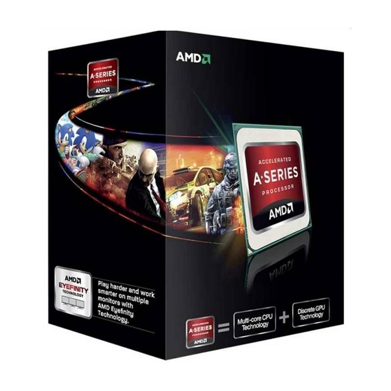 AMD A4-6300 3.7 Ghz Socket FM2 Boxed – Procesador