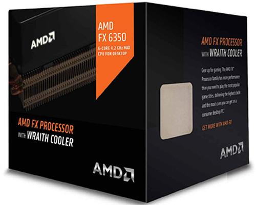 AMD FX-6350 4.2 GHz Wraith Cooler Socket AM3+ – Procesador
