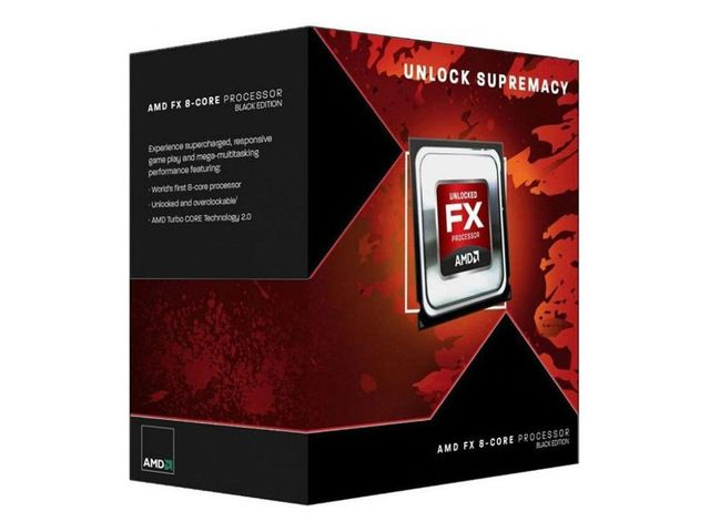 AMD FX-8300 3.3 Ghz Socket AM3+ Boxed – Procesador