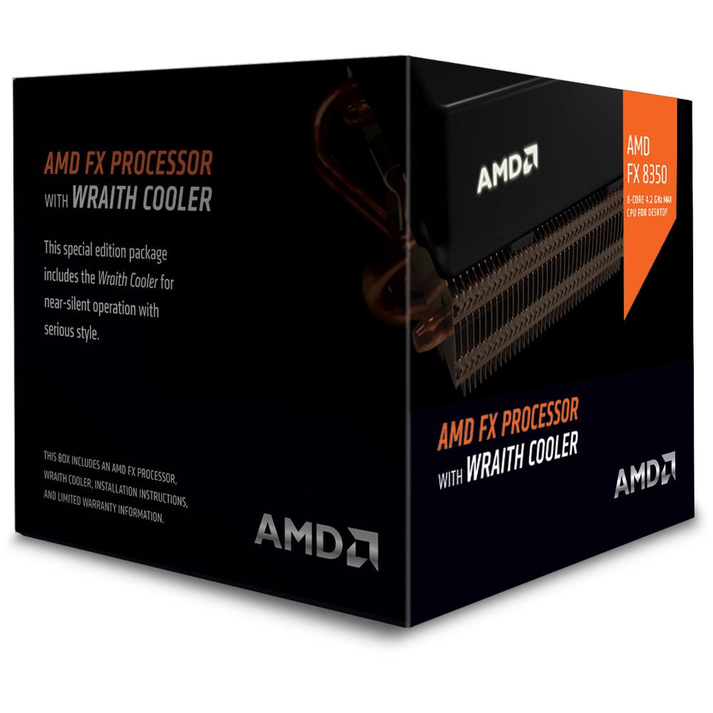 AMD FX-8350 4.2 GHz Wraith Cooler Socket AM3+ – Procesador
