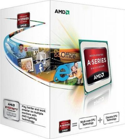 AMD A4-4000 3.0 Ghz Socket FM2 Boxed - Procesador