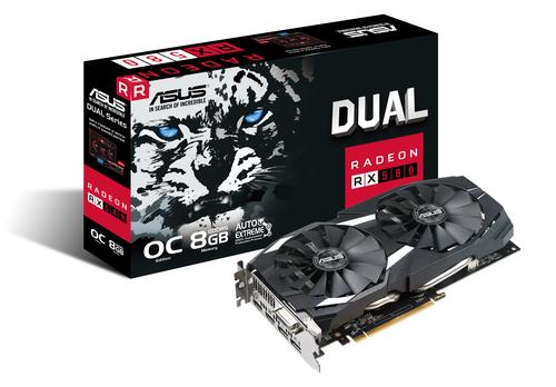 ASUS DUAL-RX580-O8G