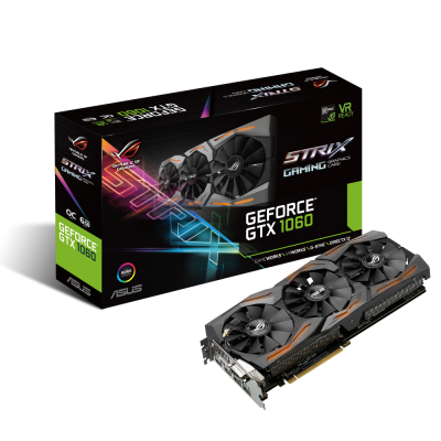 Asus ROG Strix Geforce GTX 1060 Gaming OC
