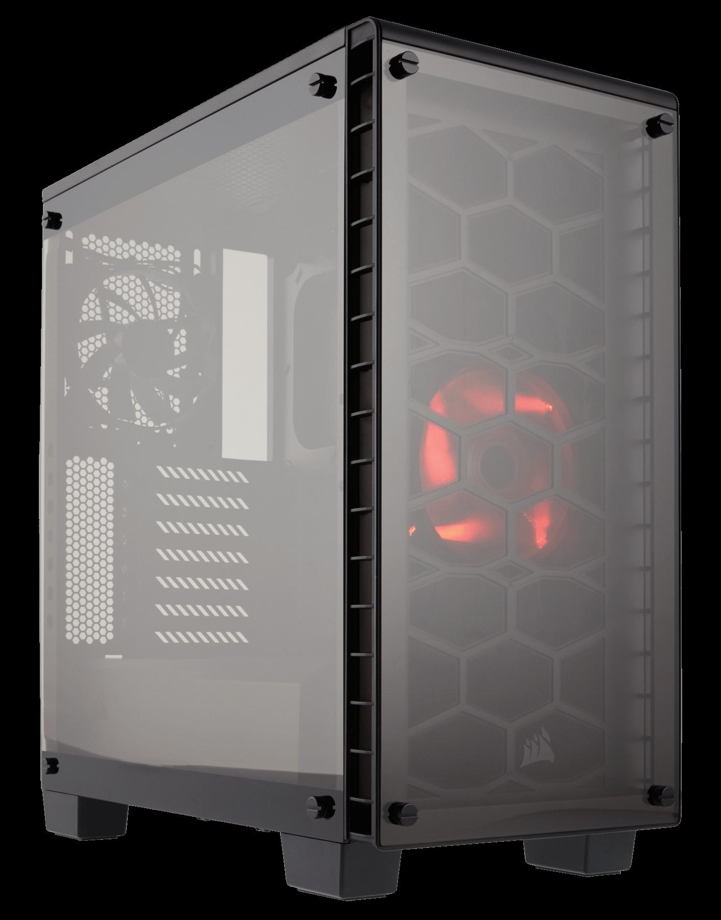 caja corsair crystal 460x