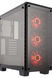 caja corsair crystal 460x rgb mid-tower