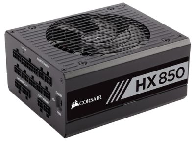CORSAIR HX850 850 WATT FULLY MODULAR 80+ PLATINUM