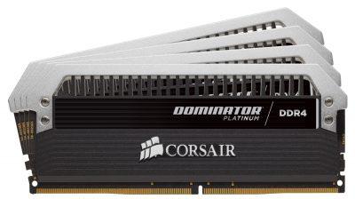Corsair Dominator Platinum 16GB DDR4 2666MHz 4x4GB L18