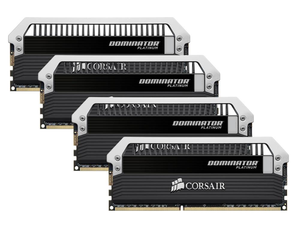 Corsair Dominator Platinum 4x8GB 32GB DDR3 1600MHz