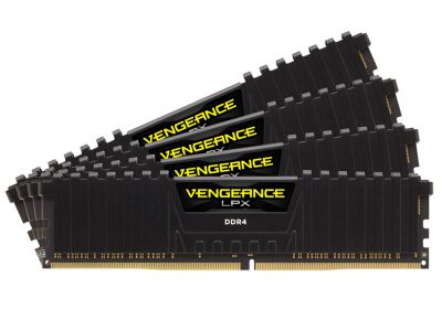 Corsair Vengeance 64GB 2400 MHz DDR4 LPX Black