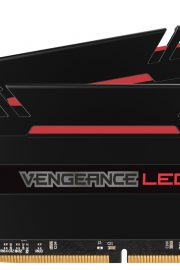 Corsair Vengeance Black Red Led 16GB DDR4 3200MHz 2x8GB
