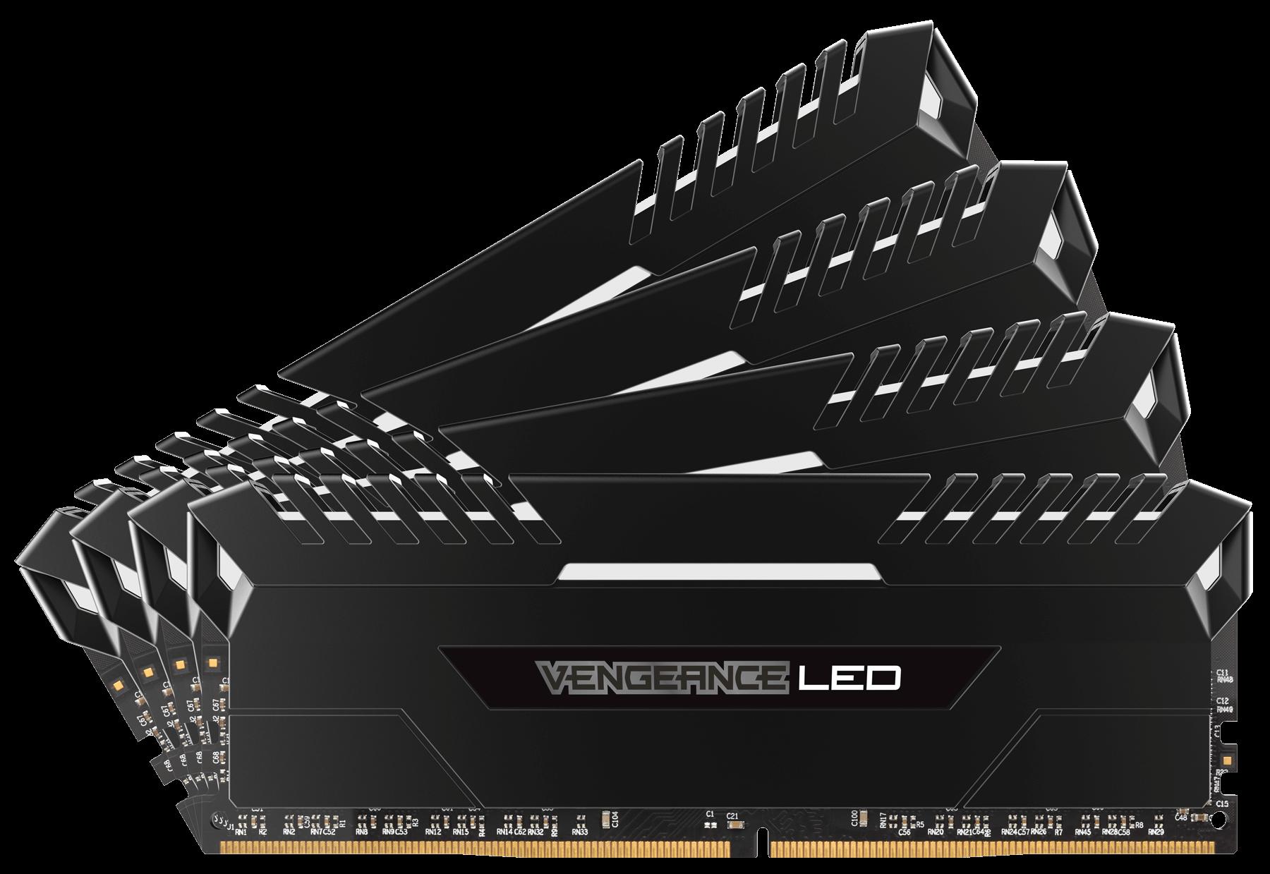 Corsair Vengeance LED 4x16GB DDR4 3200MHz 64GB