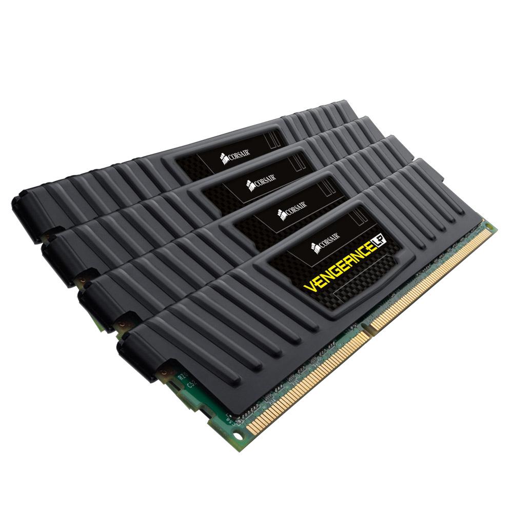 Corsair Vengeance LP Black DDR3 32GB 4X8GB 1600MHz