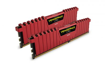 Corsair Vengeance LPX Red 16GB DDR4 3000MHz 2x8GB