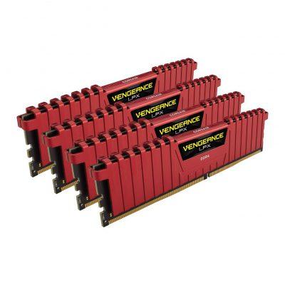 Corsair Vengeance LPX Red 16GB DDR4 3866MHz 4x4GB
