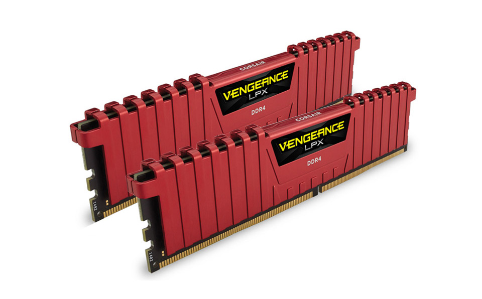 Corsair Vengeance LPX Red DDR4 3200MHz 2x8GB