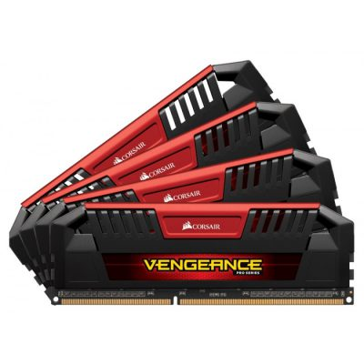 Corsair Vengeance Pro Red 32GB DDR3 2400MHz
