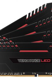 Corsair Vengeance Red LED 4x8GB DDR4 2666MHz 32GB