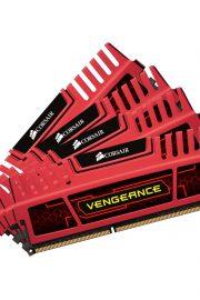 Corsair Vengeance Red Quad Channel 32GB DDR3 1866MHz