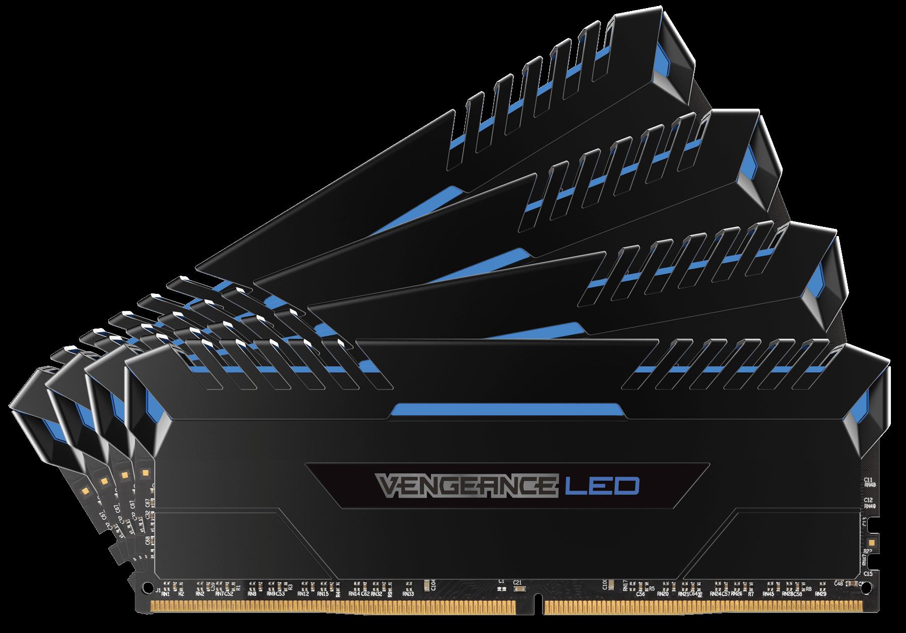 Corsair Vengeance Stunning Blue LED 32GB DDR4 3000MHz
