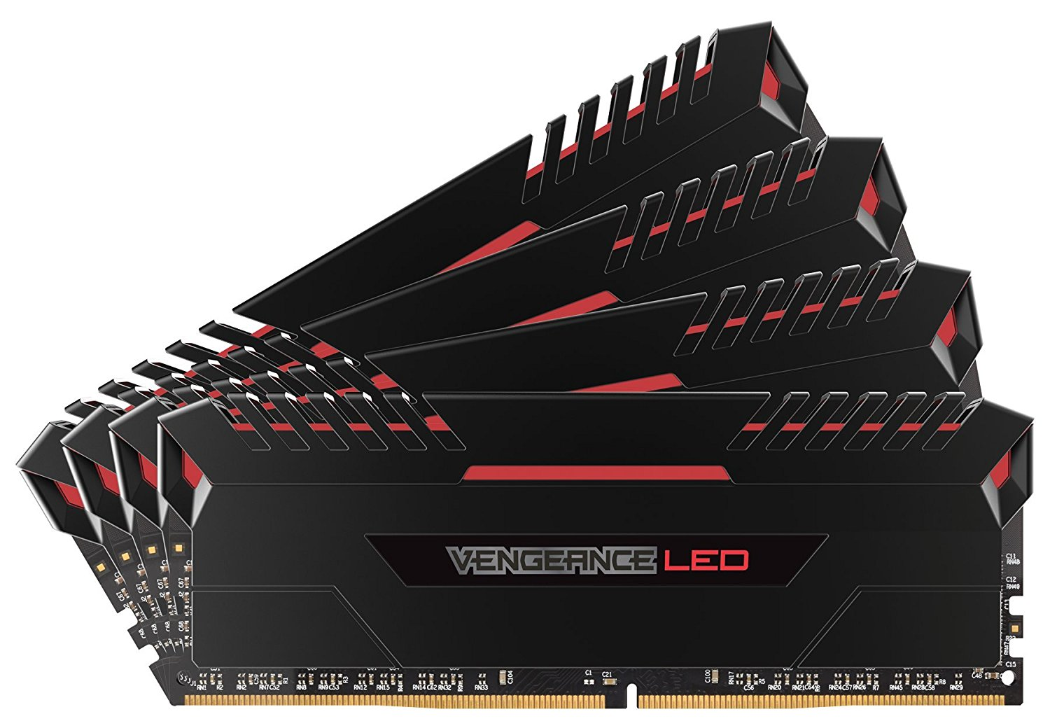 Corsair Vengeance Stunning Red LED 32GB DDR4 3200MHz