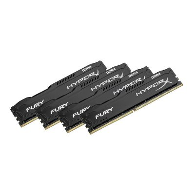 HyperX FURY Black 64GB DDR4 2133MHz CL14 Kit 4x16