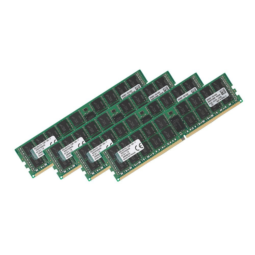 Kingston DDR4 ECC Reg 64GB Kit 4 2133MHz