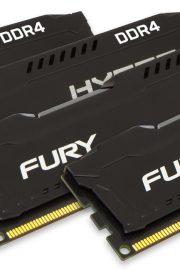 Kingston HyperX FURY Memory Black 32GB DDR4 2133MHz Kit 4x8GB
