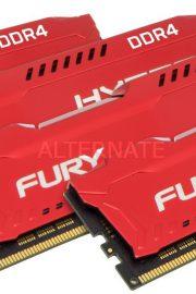 Kingston HyperX FURY Memory Red 32GB DDR4 2400MHz Kit 4x8