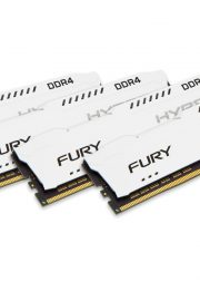 Kingston HyperX FURY Memory White 32GB DDR4 2400MHz Kit 4x8