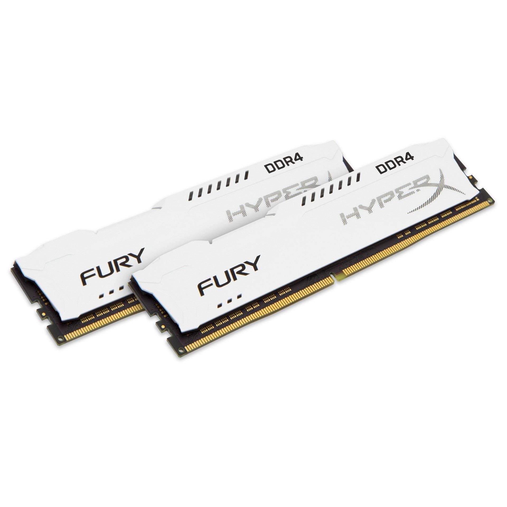 Kingston HyperX FURY White 16GB DDR4 2400MHz 2x8GB