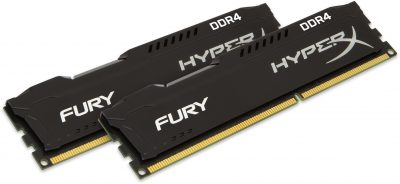 Kingston HyperX Fury Black 16GB DDR4 2666MHz 2x8GB
