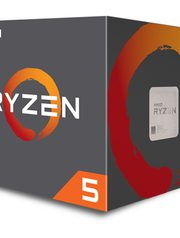 CPU AMD RYZEN 5 1400 4-Cores 3.2 GHZ Con Cooler