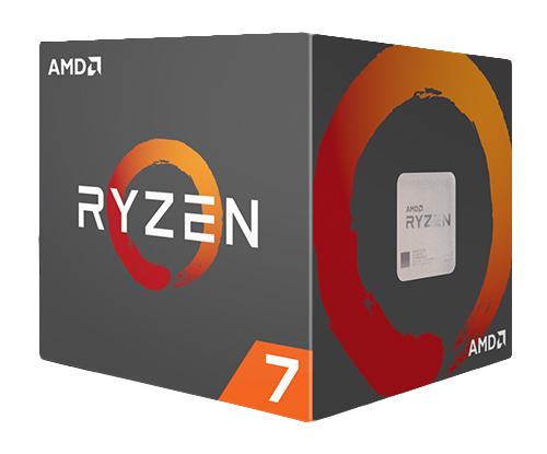 CPU AMD RYZEN 7 1700 8-Cores 3.0 GHZ Con Cooler