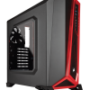 corsair carbide series spec-alpha negra-roja