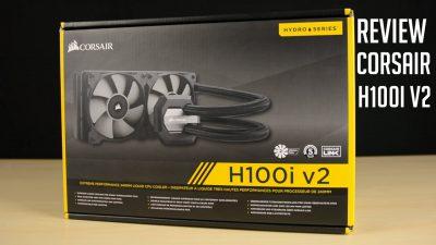 CORSAIR VENTILADOR CPU COOLINGT HYDRO SERIES H100I V2 3