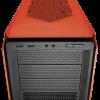 Corsair Semitorre Graphite Series 230T Windowed Naranja con LED Naranja ATX-mATX02