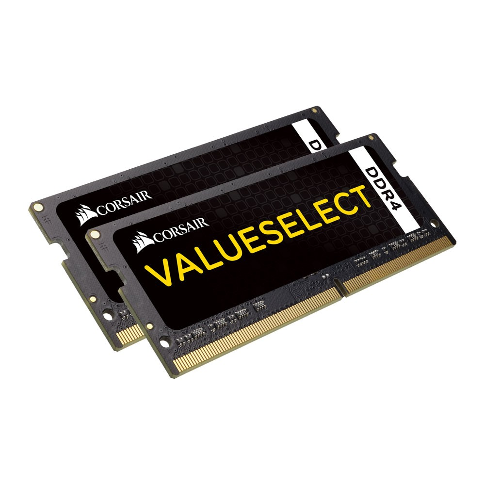 corsair valueselect sodimm 8gb ddr4 2133mhz 1x8gb. Black Bedroom Furniture Sets. Home Design Ideas