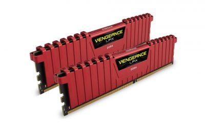 Corsair Vengeance LPX Red 8GB DDR4 2666MHz 2x4GB