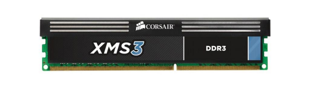Corsair XMS3 4GB DDR3 1600MHz 1x4GB