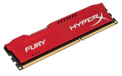 Kingston HyperX FURY Red 8GB DDR3 1866MHz 1x8GB