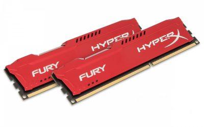 Kingston HyperX FURY Red 8GB DDR3 1866MHz 2X4GB