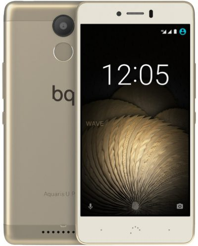 BQ Aquaris U Plus Blanco-Dorado 16GB Almacenamiento 2GB Ram