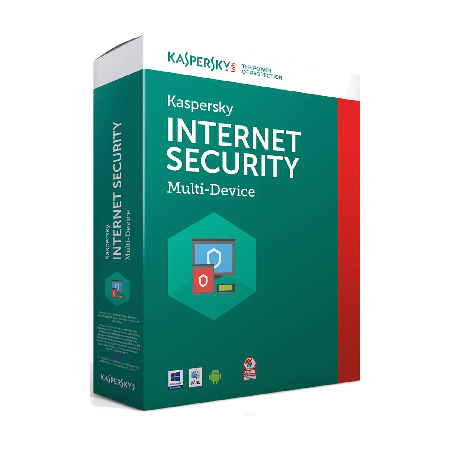 kaspersky Internet Security  2017 Multi 3U