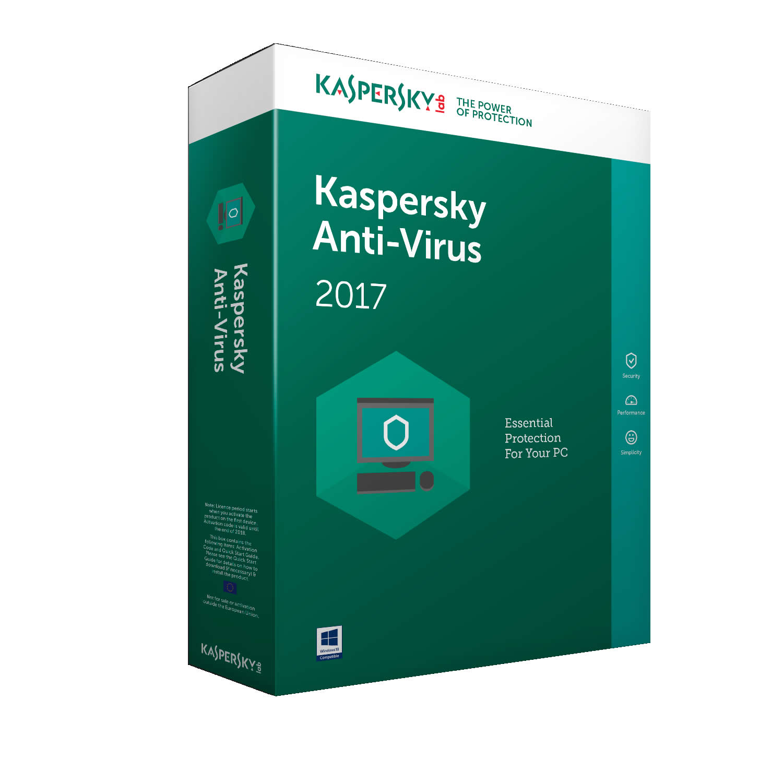 kaspersky antivirus 2017 1U