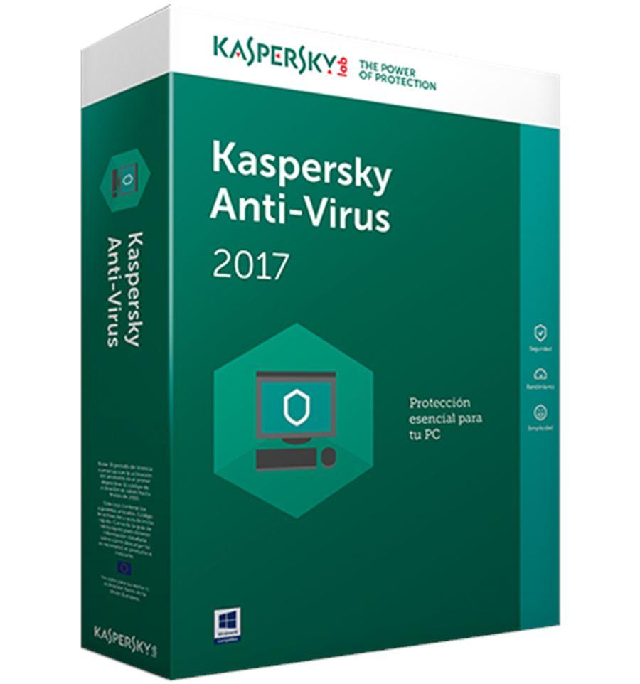 kaspersky antivirus 2017 3U